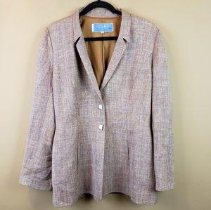 Vintage Thierry Mugler Paris linen blazer
